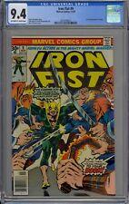 Iron Fist #9 CGC 9.4 NM OwWp 1st Full Chaka Marvel Comics 1976 John Byrne Art