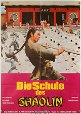 Die Schule des Shaolin|The Iron Monkey 1978 Chen Kuan-Tai Orig.-Kinoplakat