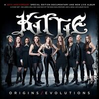 Kittie - Kittie: Origins/Evolutions [New CD] Explicit, With Blu-Ray, With DVD, D