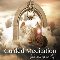 GUIDED MEDITATION CD FOR DEEP & NATURAL SLEEP + RELAXATION WATERFALL TRACK
