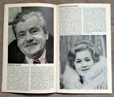 More details for kenneth more & patricia routledge signed vaudeville theatre programme 1977