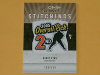 2009-10 OPC Premier Stitchings Hockey Card # PS-RY Bobby Ryan /199