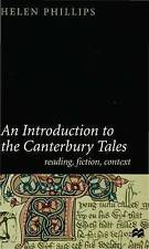 """An Introduction to the """"Canterbury Tales"""": Reading, Fiction and Context"""