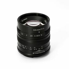 7artisans 55mm f/1.4 Portrait Lens Sony E-Mount A7 A7II A6500 NEX-3 for Sony New
