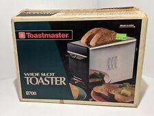 Vintage Toastmaster Wide Slot Bread Toaster Model B700 NIB Kitchen USA MADE NEW