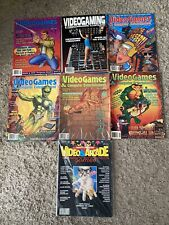 Vintage Video Arcade Games Magazine Issue #1*1983+Comp.Entertainment*Lot Of 7
