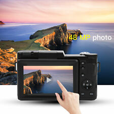 3.0'' LCD FHD 1080P WIFI Digital Video Camera DV Camcorder 48MP + Shoulder Strap
