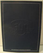 100th Anniversary 2011 Indianapolis 500 Yearbook Winner Dan Wheldon Bryan Herta
