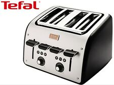 TEFAL Avanti 4 Slot Sides Toaster Mother's Day Gift Kitchen/Cooking/Toast/Home
