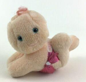 Hug a Bye Baby Doll Plush Stuffed Toy Pink Diaper Vintage 1984 Hallmark