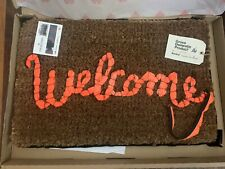 Banksy Welcome Mat Gross Domestic Product Love Welcomes IN HAND