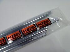 New KBS Tour 90 Iron Shafts 4-PW  Regular Flex .355 Taper Tip