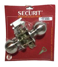 Securit Acciaio Inossidabile Privacy Pomello Set 60MM/70MM Serratura Maniglia Bagno
