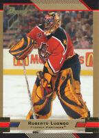 Roberto Luongo 2003-04 Bowman Draft Picks GOLD #60 Florida Panthers Hockey Card