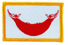 FLAG PATCH PATCHES EASTER ISLAND CHILE IRON ON COUNTRY EMBROIDERED SMALL