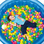 100 Large Colorful Ball Pit Balls Fun Soft Plastic Sizzlin Cool Ocean Swim Toys