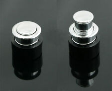 Sliding Door Handle ABS - FP013 - Round Push Pop Out Concealed Drawer Pulls Knob