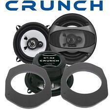 Crunch Lautsprecher 130mm & Adapterringe für Ford Focus bis 11.2000 Front