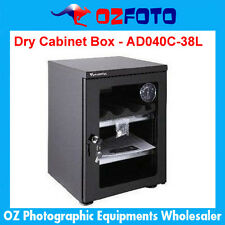 Wonderful AD-040C Glass Door Dry Cabinet Camera Lens Electronic Dehumidify 38L