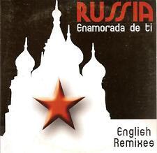 RUSSIA - enamorada de ti (REMIXES) CD SINGLE eurodance