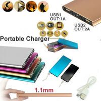 500000mAh UltraThin  Portable External Battery Charger Power Bank for Cell Phone