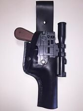 Star Wars Back Leather HOLSTER for a Kenner / Hasbro ANH DL-44 Han Solo Blaster