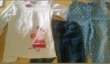 Girls mixed items jeans size 4 to 6 peppa pig