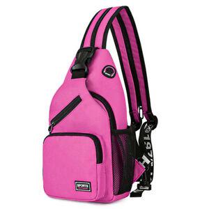 Outdoor Waterproof Chest Pack Travel Sport Shoulder Sling Backpack Crossbody Bag
