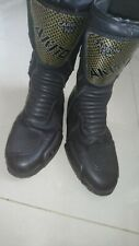 Waterproof Touring Boots Leather Motorbike Motorcycle Racing With Armour Size 10