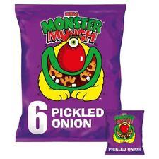 Mega Monster Munch Pickled Onion Snacks 22g x - 6 per pack (0.29lbs)