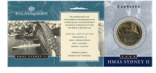 """2000 $1 Uncirculated Coin: """"HMAS Sydney II."""" """"C"""" mintmark."""