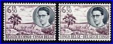 BELGIAN CONGO 1955 TROPICAL PLANTS  SC#293, 297 MNH CV30.00 ++