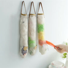creative home hollow breathable hanging storage bag of garlic onion hanger WL
