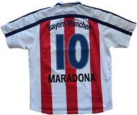 maglia Maradona Bayern Monaco farewell match MATTHAUS Bayern Munich Shirt opel