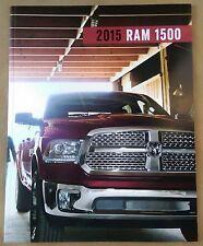 2015 Dodge Ram 1500 Truck 42-page Original Sales Brochure NEW