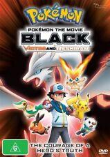 Pokemon The Movie - Black - Victini And Reshiram (DVD, 2012), NEW REGION 4