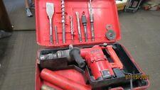 Hilti Te82 Hammer Drill With Bits In Case