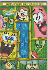 SPONGEBOB SQUAREPANTS SEASON 1 (DVD, 2012, 3-Disc Set) NEW
