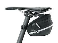 Topeak TC2272B Wedge Pack II / Bike Bicycle Seat Saddle Bag Pannier & Rain Cover