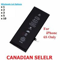 Lot x New 1715mAh Li-ion Battery Replacement With Flex Cable For iPhone 6S 4.7""