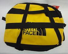 North Face Base Camp Duffel Bag/Backpack CWW1 Summit Gold/TNF Black Size Large