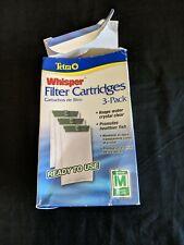 Tetra 26218 Medium 5-15 Carbon Filter Cartridges 3 Count NEW