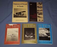 Lot of 5 Air facts Magazines Aircraft to Canada The Farmers Wings Booklets