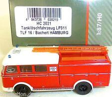 VEHÍCULO DE BOMBEROS CISTERNA lp311 TLF16 bachert HAMBURGO Heico hc2021