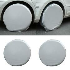 Set Of 4 Heavy Duty Car Wheel Tire Cover For RV Truck Trailer Camper Motorhome