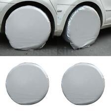 Set Of 4 Heavy Duty Car Wheel Tire Cover For RV Truck Trailer Camper Motorhome