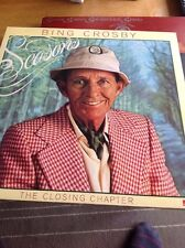 'Seasons' BING CROSBY vinyl LP record Rare EX/EX