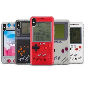 NINTENDO GAME BOY TETRIS RETRO GAME CONSOLE PHONE CASE COVER FOR IPHONE 8 X 11