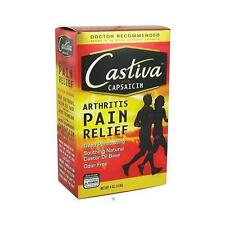 Arthritis Humco Castiva with capsaicin Pain Relief Lotion, Warming 4 oz