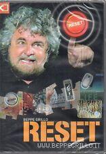 BEPPE GRILLO - RESET - DVD (NUOVO SIGILLATO)